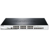Switch D-Link® DGS-1510-28XMP de 28 Puertos PoE+ (+4 SFP+ 10G) Apilable - 370W (Capa 2)//D-Link®  DGS-1510-28XMP 28-Port PoE+ Gigabit Stackable POE Smart Pro Switch (+4 SFP+ 10G) Stackable