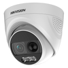 Cámara Minidomo HIKVISION™ HD-TVI 2MPx 2.8mm con LEDs 20m (+PIR y Sirena)//HIKVISION™ HD-TVI 2MPx 2.8mm Mini Dome with 20m LEDs (+PIR and Sounder)