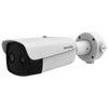 Cámara IP Bulet Termográfica Bi-Espectral HIKVISION™ de 4MPx/384x288 25mm para Detección de Temperatura con IR 40m//HIKVISION™ 4MPx/384x288 25mm Bi-Spectral Thermographic Bulet IP Camera for Temperature Detection with IR 40m