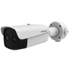 Cámara IP Bulet Termográfica Bi-Espectral HIKVISION™ de 4MPx/384x288 4mm para Detección de Fiebre con IR 50m//HIKVISION™ Bi-Spectral Thermographic Bulet IP Camera 4MPx / 384x288 4mm with Detection of Fever with IR 50m