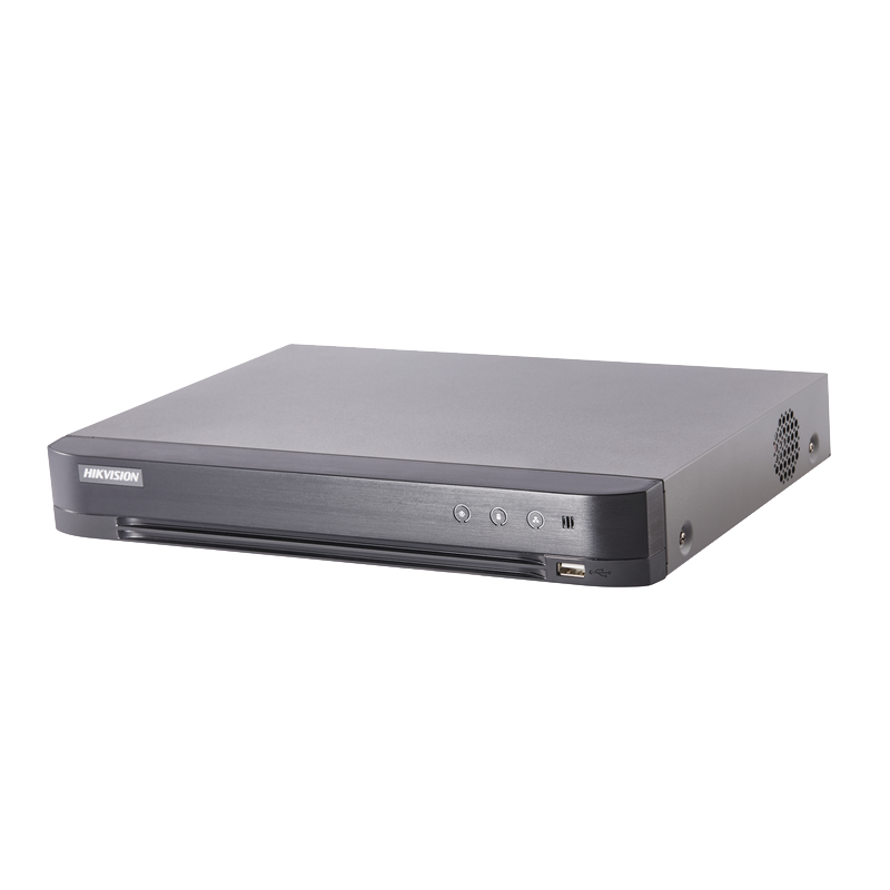 Grabador HD-TVI HIKVISION™ para 4 Canales (Grab. hasta 5MPx)//HIKVISION™ DS-7204HUHI-K2 4CH HD-TVI Recorders