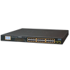 Switch Ethernet PLANET™ de 24 Puertos PoE+ & 2 Gigabit SFP (300W)//PLANET™ 24-Port PoE+ & 2-Port Gigabit SFP Ethernet Switch (300W)