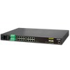 Switch Gestionable Industrial PLANET™ de 16 Puertos + 4 SFP - L2+ (con Enrutado Estático L3)//PLANET™ Industrial 16-Port + 4-Port SFP Managed Ethernet Switch - L2+ with L3 Static Routing