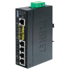 Switch Gestionable Industrial PLANET™ de 4 Puertos + 2 SFP - L2+ (con Enrutado Estático L3)//PLANET™ Industrial 4-Port + 2-Port SFP Managed Ethernet Switch - L2+ with L3 Static Routing