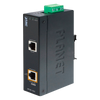 Splitter Gigabit PoE+ Industrial PLANET™ (12/24VDC) - Carril DIN//PLANET™ Industrial IEEE 802.3at Gigabit High Power over Ethernet Splitter (12/24VDC) - DIN Rail