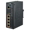 Extensor Gigabit Ultra PoE Industrial PLANET™ de 4 Puertos de Salida (64W) - Carril DIN//PLANET™ Industrial 1-Port Ultra PoE to 4-Port 802.3af/at Gigabit PoE Extender (64W) - DIN Rail