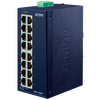 Switch Fast Ethernet Industrial PLANET™ de 16 Puertos 10/100TX//PLANET™ Industrial 16-Port 10/100TX Fast Ethernet Switch