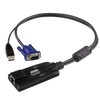 Adaptador KVM VGA USB con Compatibilidad de Vídeo Compuesto ATEN™ KA7170//ATEN™ KA7170 USB VGA KVM Adapter with Composite Video Support