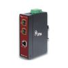 Conversor Industrial UTC™ IFS® de Gigabit Ethernet a Fibra (2 x SFP) - Carril DIN//UTC™ IFS® 1-Port (+2 SFP) Industrial Non-Manageable Gigabit Ethernet Media Converter - DIN Rail