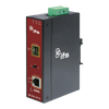 Conversor Industrial UTC™ IFS® de Gigabit Ethernet PoE+ a Fibra (1 x SFP) - Carril DIN//UTC™ IFS® 1-Port (+1 SFP) Industrial PoE+ Non-Manageable Gigabit Ethernet Media Converter - DIN Rail