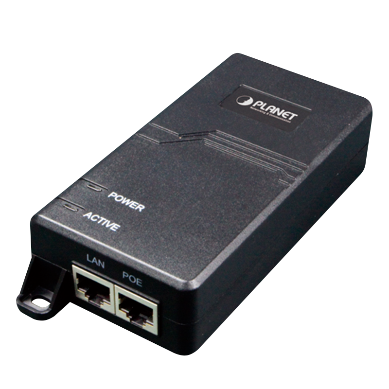 Inyector PoE+ PLANET™ POE-164 (30W)//PLANET™ IEEE 802.3at High Power over Ethernet Injector (30W)
