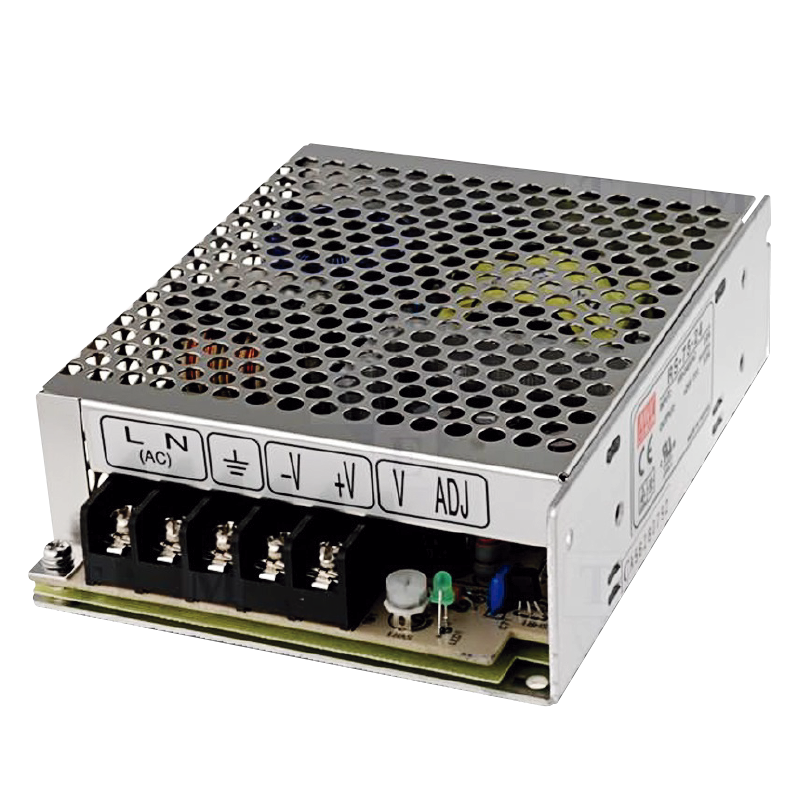 Fuente MEANWELL® RS-75//MEANWELL® RS-75 Power Supply Unit