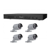 Kit Híbrido UTC™ TruVision™ TVR-1504HD-KB2//UTC™ TruVision™ TVR-1504HD-KB2 Hybrids Kits