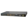 Switch Gigabit Gestionable PoE+ PLANET™ de 16 Puertos (+4 SFP) Capa 2+ - 230W//PLANET™ 24-Ports (+4 SFP) PoE+ Gigabit Manageable L2+ Switch - 230W