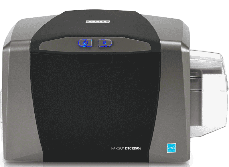 Impresora FARGO™ DTC1250e SINGLE + BM//FARGO™ DTC1250e SINGLE Printer + MS Encoder