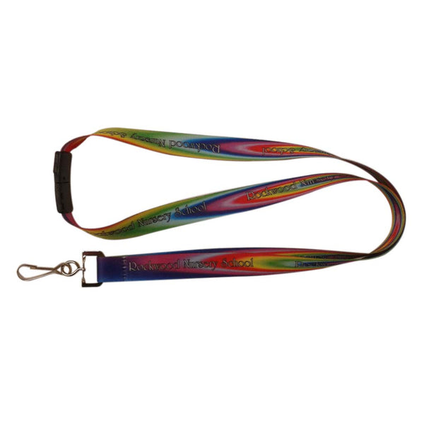 15mm Lanyard with Dog Clip & SafetyBreak