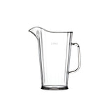 This promotional 2 pint water jug is made from polycarbonate and can be branded with a 1 colour print to the side