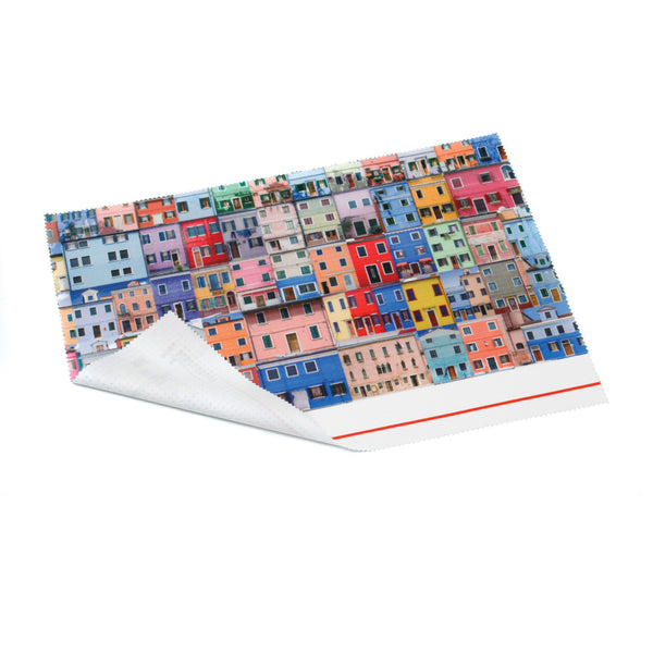 This promotional mousemat can also be used as a keyboard protector and a microfibre screen cloth. This promotional item can be branded with a full colour print to the top