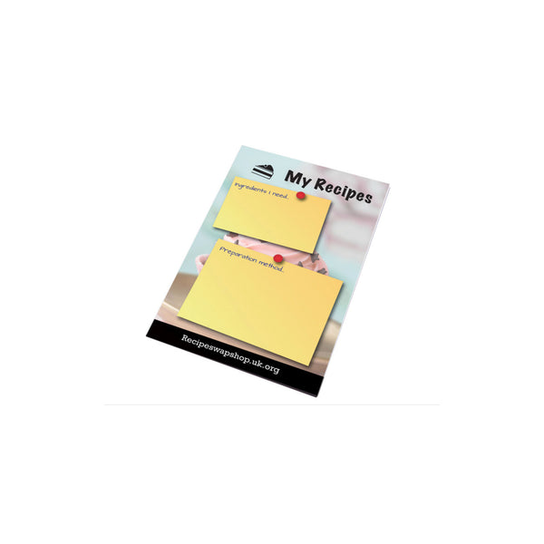 This promotional notepad contains 25 sheets of 80gsm paper and can be branded full colour to each page