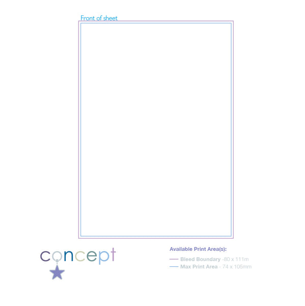 Promotional A7 Notepad