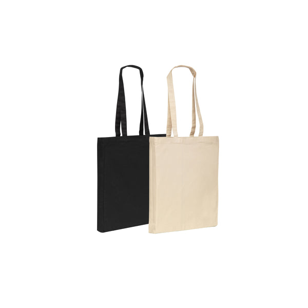This promotional  6oz Naturally produced cotton Tote Shopper features long handles and a handy 4cm gusset.