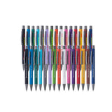 This promotional pen can be branded with a laser engraved logo to the barrel and is available in 15 colours