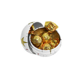 Foil Caramels in a Bauble Tin