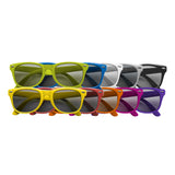 This promotional sunglasses have UV400 protection and can be branded with a 1 colour print to the arm