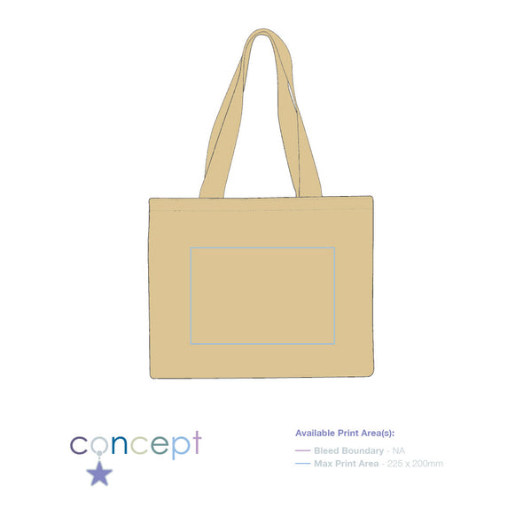 Cranbrook' 10oz Cotton Canvas Tote Shopper (from £2.82 each)