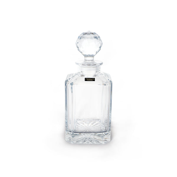 This promotional decanter is made from crystal and is branded with your logo and message engraved to the front. This product can hold 0.8L of liquid