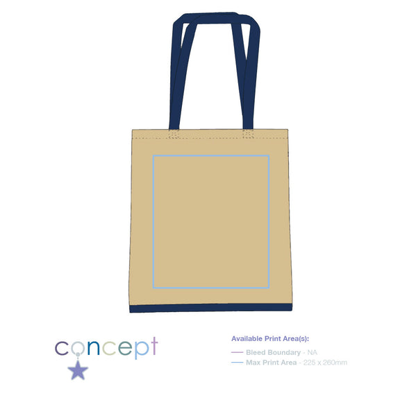 Eastwell' 4.5oz Cotton Tote Bag