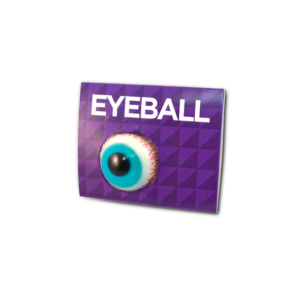 This promotional Halloween gummy eyeball sweet is a spooktacular way to promote your brand. Each pack contains 1 fruit flavoured jelly eyeball and includes a full colour printed holding card with your design. These are a great giveaway over the Halloween period and give your clients something to sink their teeth into!
