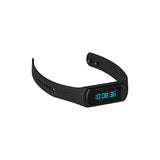 This promotional activity tracker can be branded with a 1 colour print. This fitness band measures distance, tracks steps and sleep monitors your calories burned