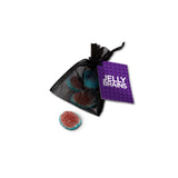 These promotional Halloween jelly brains sweets are a spooktacular way to promote your brand. Each bag contains 3 strawberry flavoured jelly brains with oozing jelly centres and include a full colour printed tag with your design. These are a great giveaway over the Halloween period