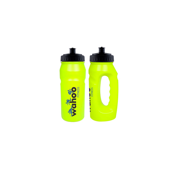 This promotional water bottle is made from glow in the dark plastic and can be branded with a 1 colour print.