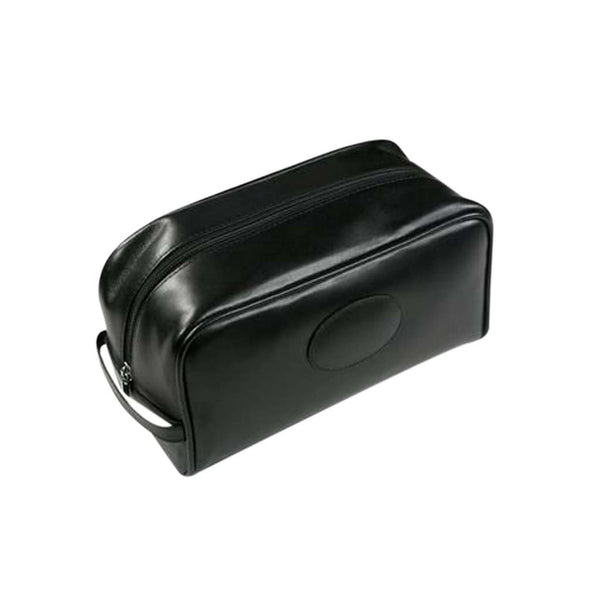 Malvern Genuine Leather Wash Bag