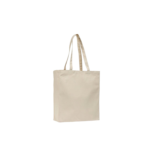This promotional bag can be branded with a 1 colour or full colour print. This tote bag is made from all natural, environmentally friendly 12oz cotton canvas.