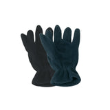 These promotional fleece gloves can be branded with 1 colour print to each glove. One size fits all