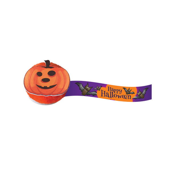 This promotional Halloween pumpkin logobug is a spooktacular way to promote your brand. These fun logobugs are printed full colour to the ribbon with your logo and design. These are 'wicked' giveaways over the Halloween period and will ensure your clients remember you!