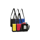This promotional bag can be branded with a 1 colour or full colour print to 1 side. This show bag is made from partly recycled reach compliant 100gsm non woven polypropylene