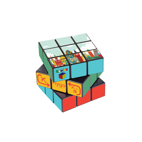 This promotional Rubiks Cube can be branded on every square with a full colour design. Each section has a full colour digitally printed label