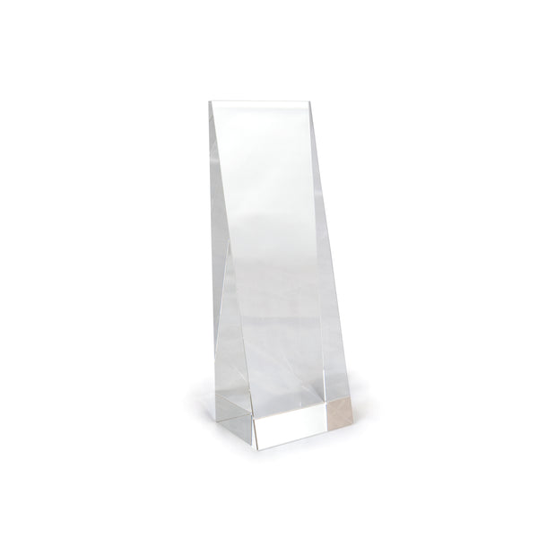 This promotional award is made from fine crystal and is branded with your logo or message. This award is supplied in a presentation box