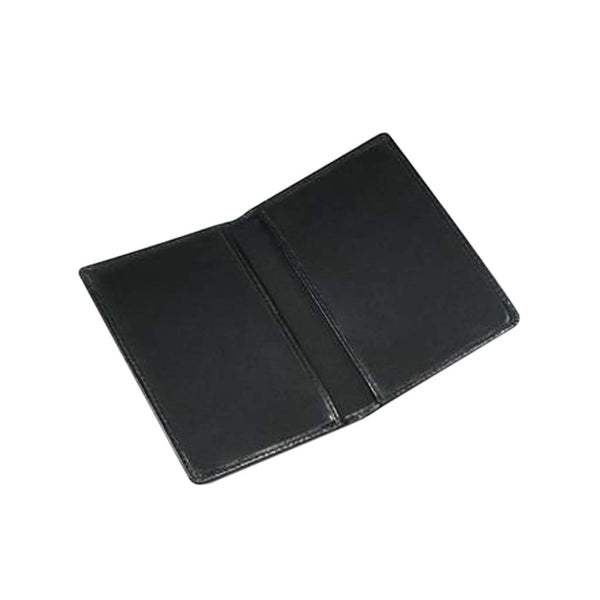 This promotional passport wallet can be branded with a logo blind embossed to the front. It is made from genuine leather.
