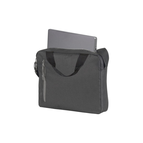 This promotional bag can be branded with a 1 colour or full colour print to 1 side. This delegate bag is made from reach compliant polyester and features handy pockets, a carry handle and shoulder strap