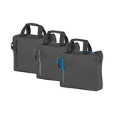 This promotional bag can be branded with a 1 colour or full colour logo to 1 side. This business bag is made from reach compliant polyester and features an internal padded compartment, a zipped front pocket, shoulder strap and carry handles