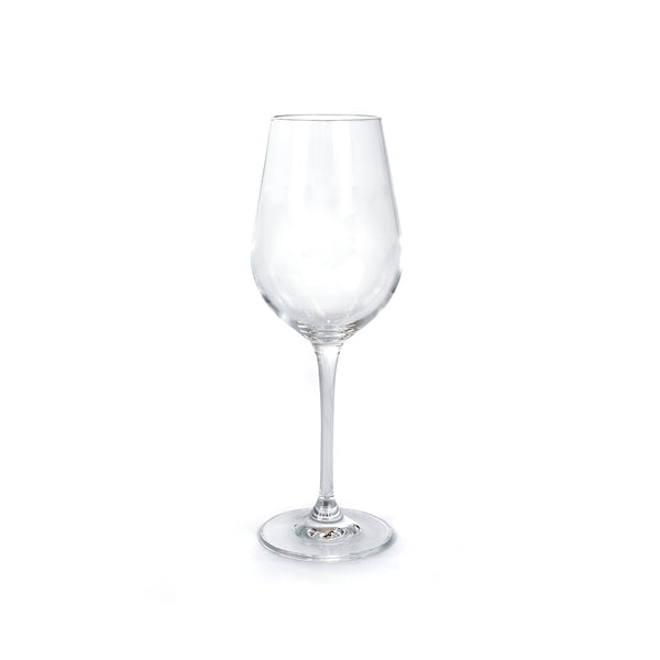This promotional wine glass is made from fine crystal and is branded with your logo to the front of the glass