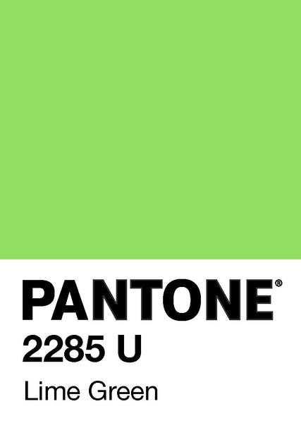 Colour - Lime Green