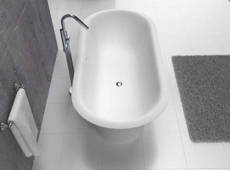 Bañera Solid Surface 180cm CLASSIC