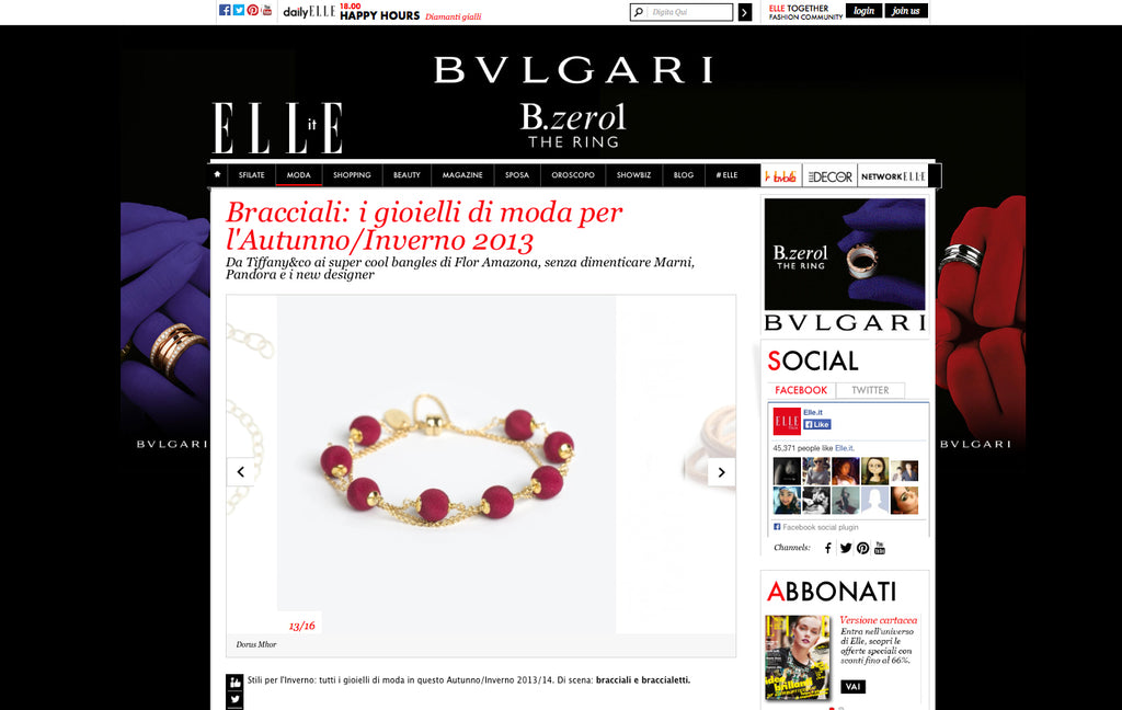 Elle Italy Online