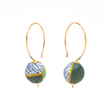 Liberty Silk Drop Earrings